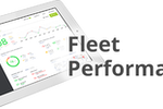 GreenRoad screenshot: View fleet performance data from the main GreenRoad dashboard