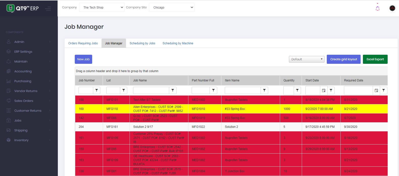 Job Manager Real-Time Super Grid