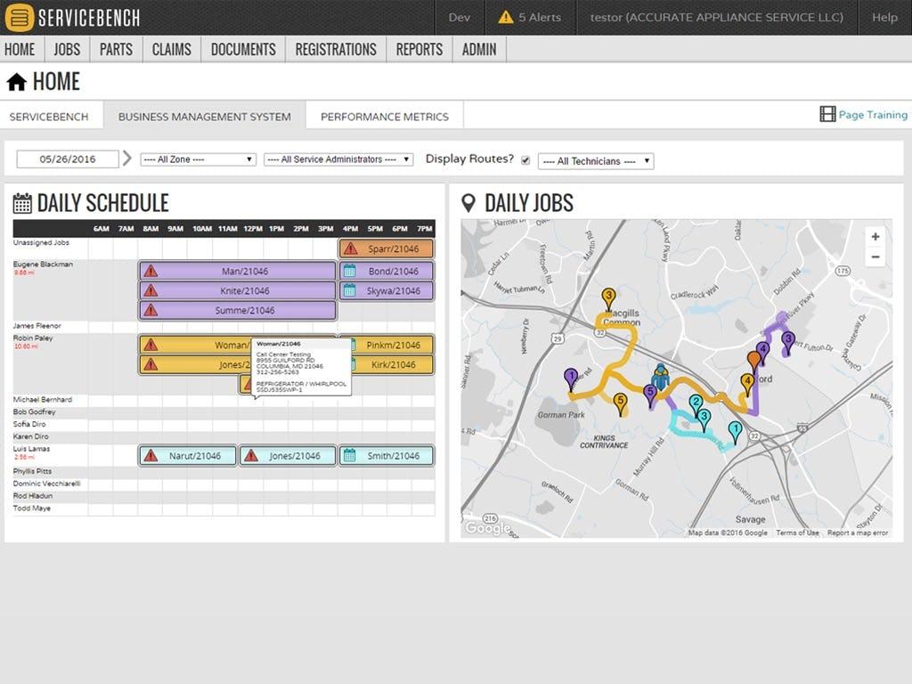 ServiceBench Software - Home