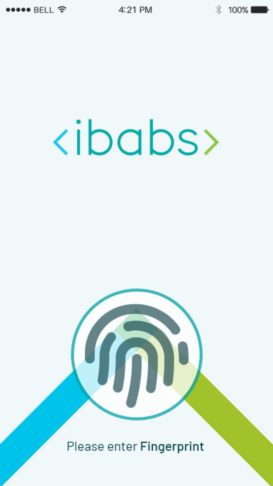 iBabs mobile apps utilize biometric authentication methods