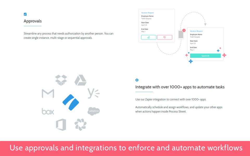 Process Street Software - 5