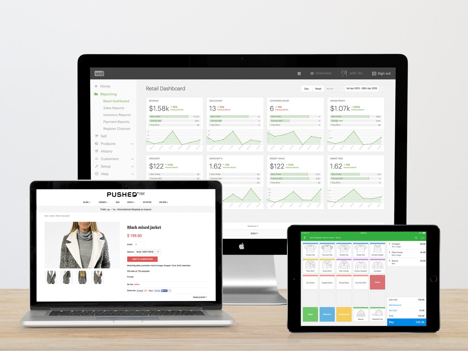 Vend Software - Vend retail system