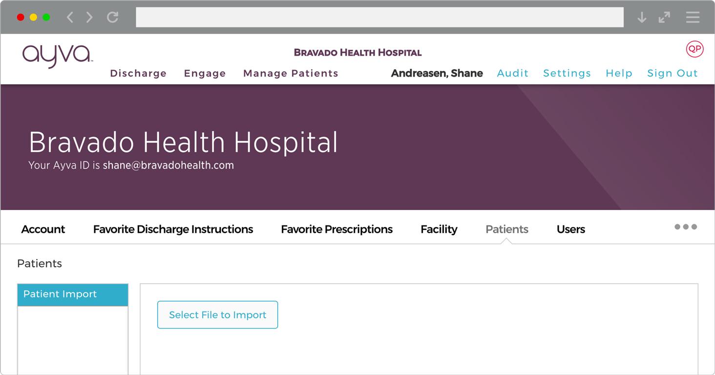 Treat patient profile
