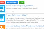 ShareKnowledge screenshot: ShareKnowledge training module screenshot