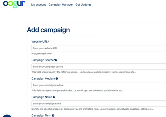 oogur create campaigns