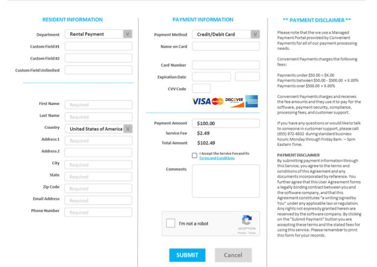 IntelliPay payment gateway