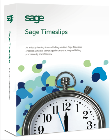 Sage Timeslips time and billing software