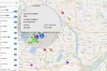 Dispatch Science screenshot: Live map-based dispatch board showing details