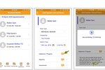 Skedulex Case Management Software screenshot: Skedulex Case Management Software voice to text note recording