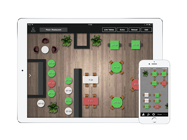 Lightspeed Restaurant - With a user-friendly floor management system, combining tables or moving them around is as simple as tap and drag. Create and edit your menu online in minutes, with our easy-to-use interface.