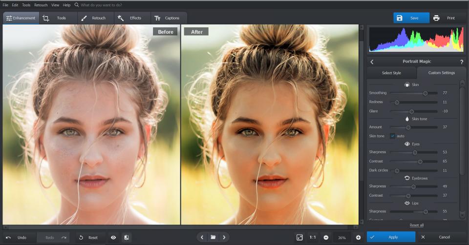 PhotoWorks settings