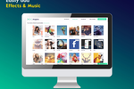 Magisto screenshot: Music and soundtrack templates