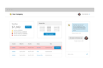Armatic screenshot: Customers can pay invoices and balances, as well as update billing information and view documents from the customer portal