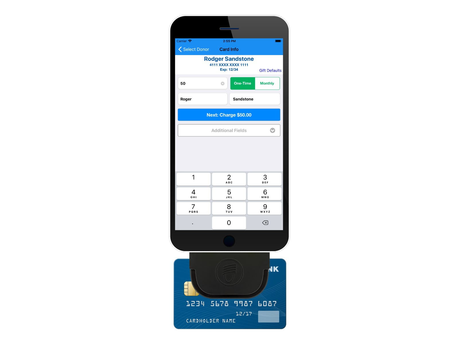 DonorPerfect Software - Mobile swipe %>