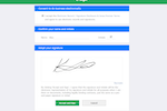 Premier screenshot: Electronic Signatures for subcontract agreements