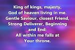 ZionWorx screenshot: ZionWorx song lyrics display