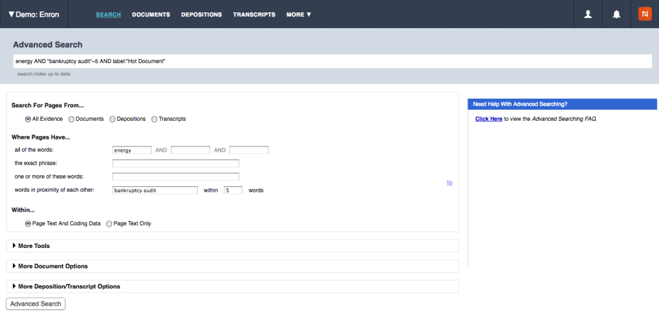 Nextpoint Software - Search