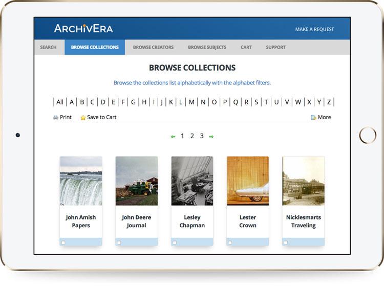 ArchivEra browse archive