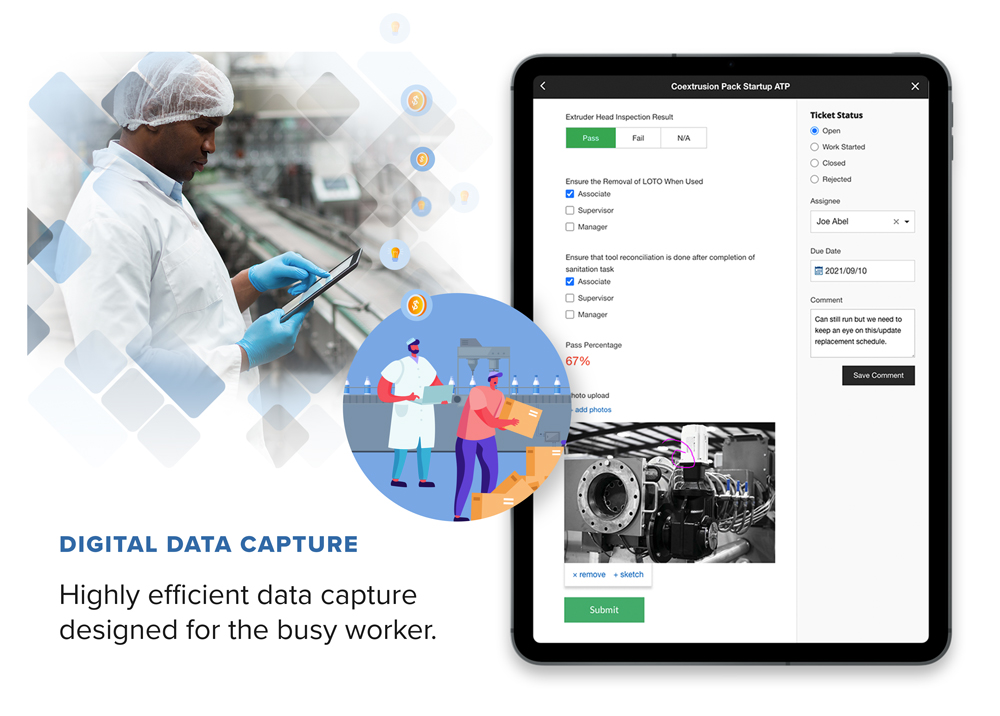 Digital Data Capture - Highly efficient data capture designed for the busy worker.