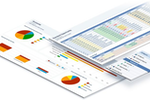 Pipeliner CRM Screenshot: Robust reporting engine and dashboards