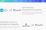 ZapERP Screenshot: ZapERP Accounting Integrations