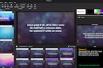 Capture d'écran pour MediaShout : MediaShout presentation editor