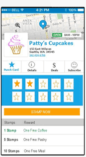 Branded mobile punch card apps replace paper punch cards