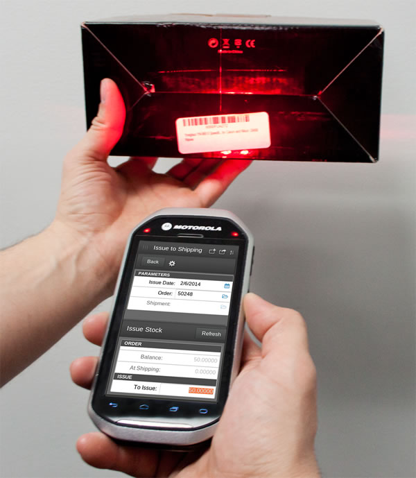 xTuple-Mobile-Scanner-Motorola MC40-Android