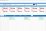 CareVoyant screenshot: CareVoyant scheduler view