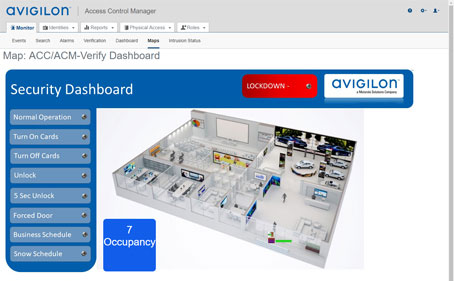 Access Control Manager occupancy tracker