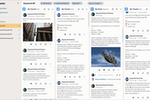 HootSuite screenshot: Social Media Monitoring: Monitor all of your social media profiles in one place and track the topics that matter to your brand.