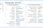 Captura de tela do Workday Financial Management: Workday Financial Management - Business Asset