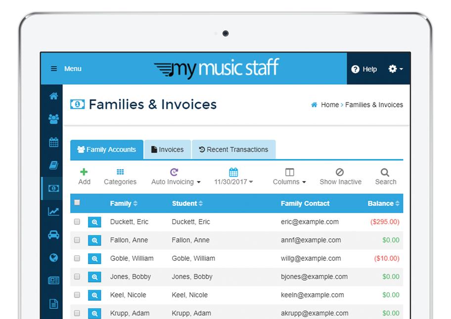 My Music Staff Software - 3