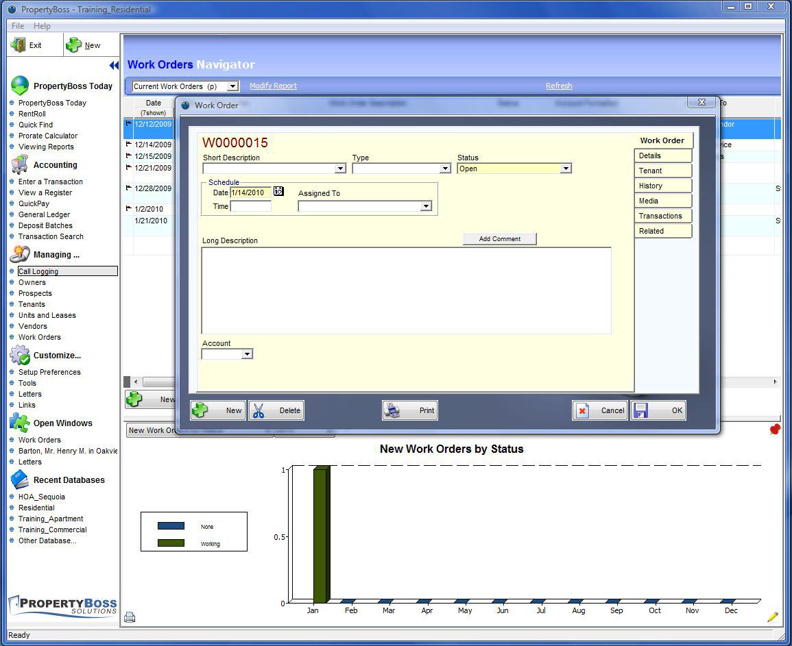 PropertyBoss Software - Work flow and process management