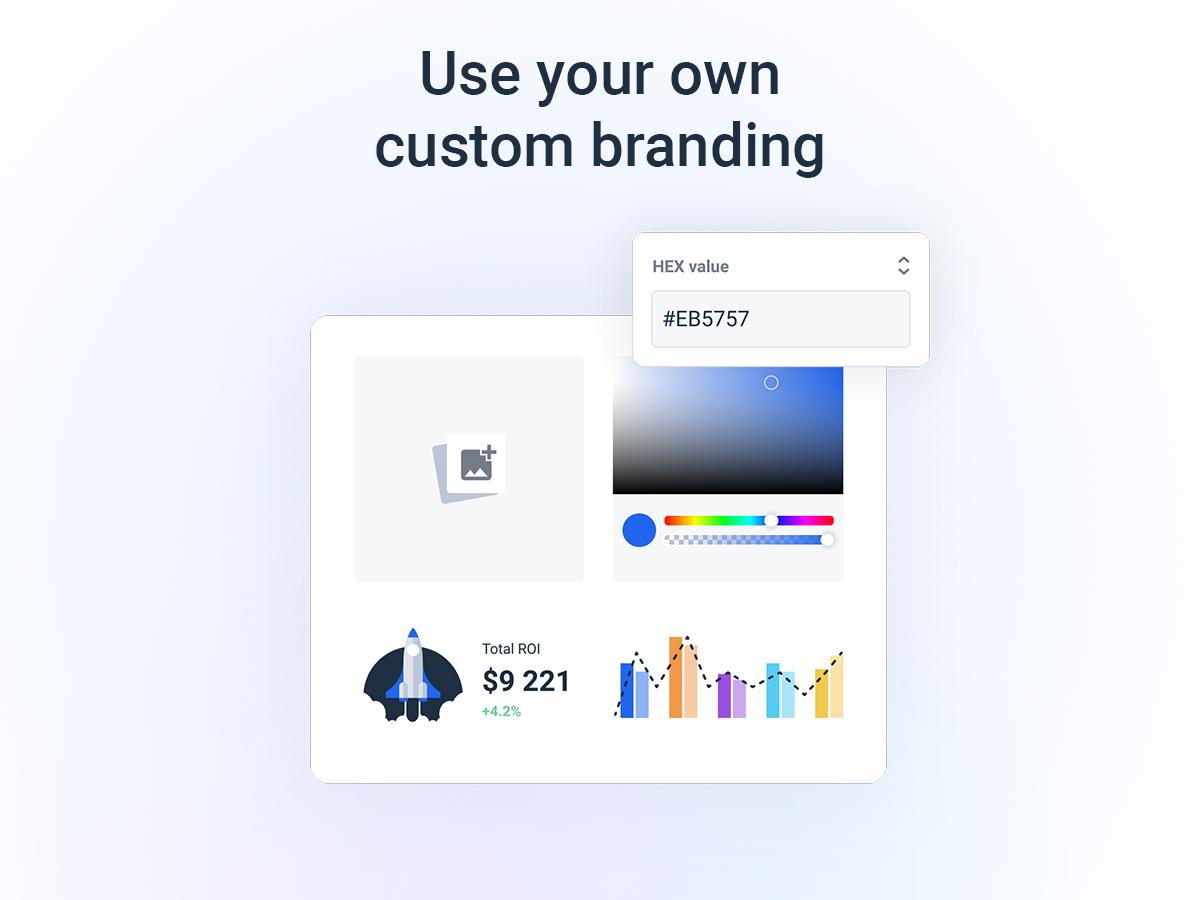 Whatagraph Software - Custom branding