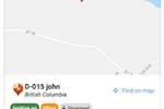 PosiTrace screenshot: PosiTrace vehicle tracking