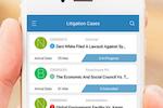 App4Legal screenshot: App4Legal litigation cases