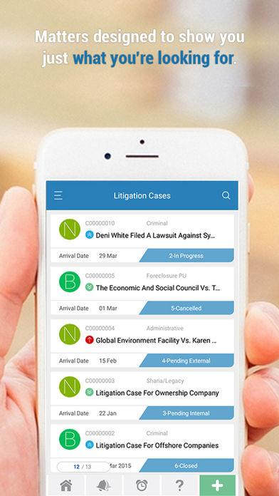 App4Legal litigation cases
