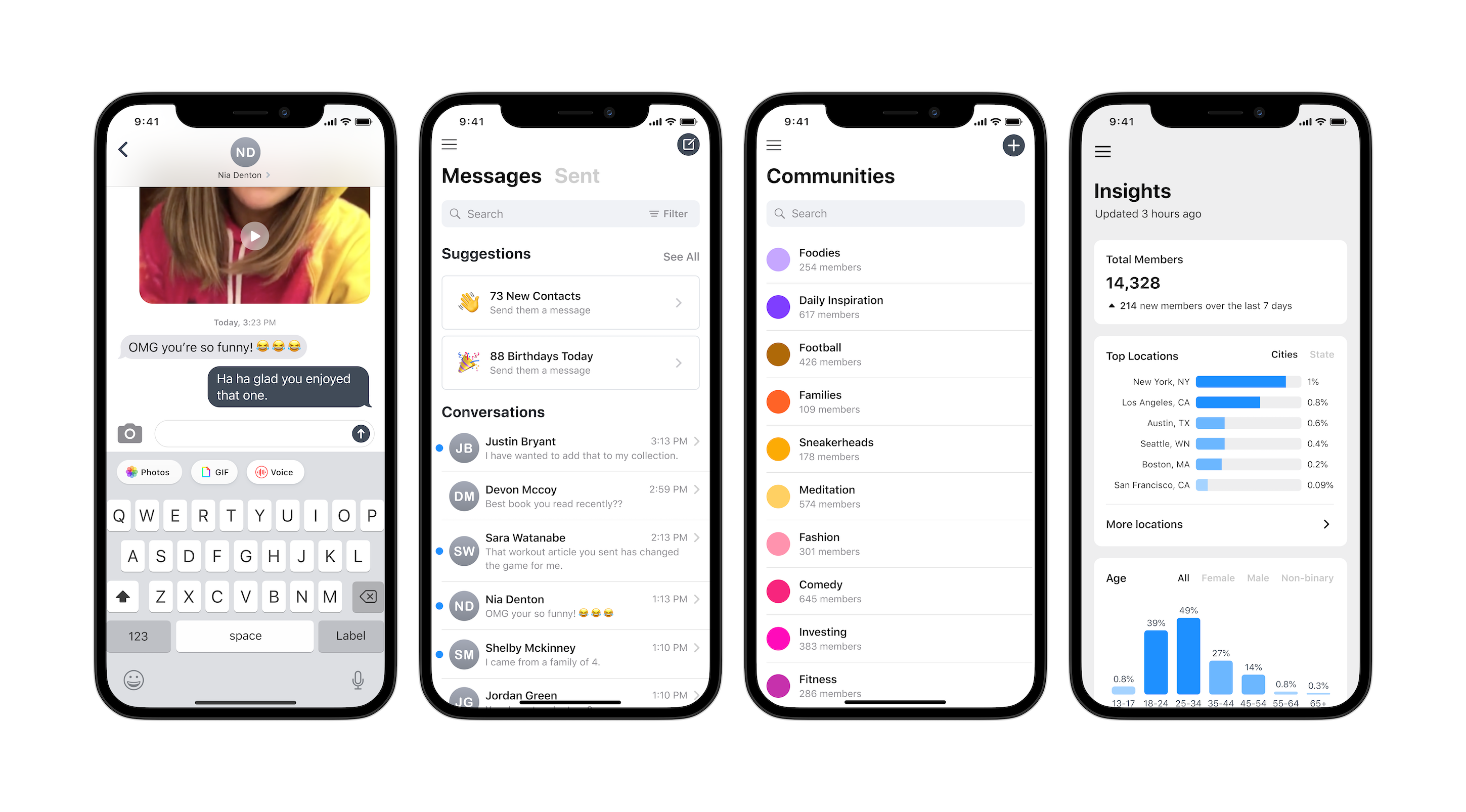 Community iOS App