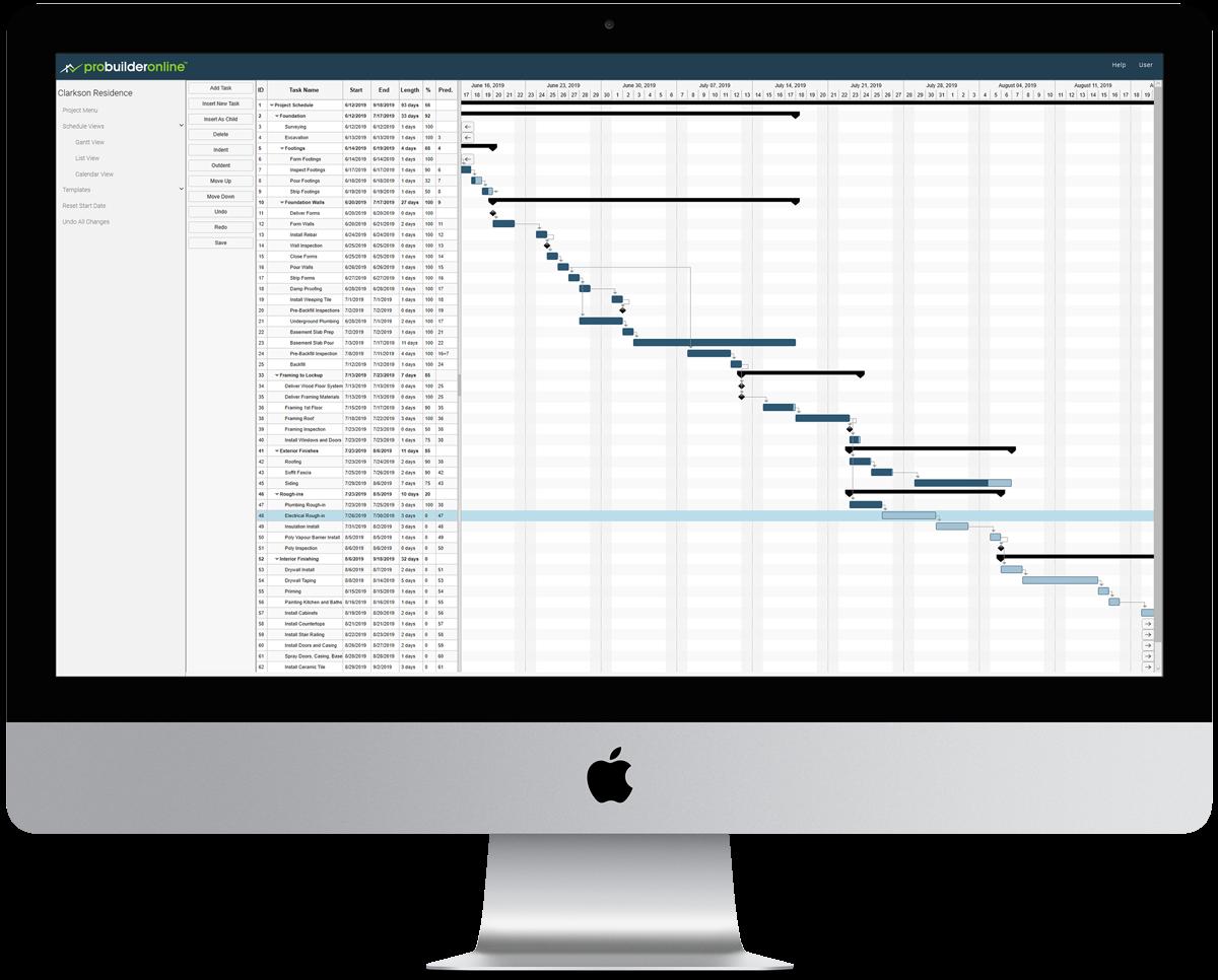 ProBuilder Task Scheduling