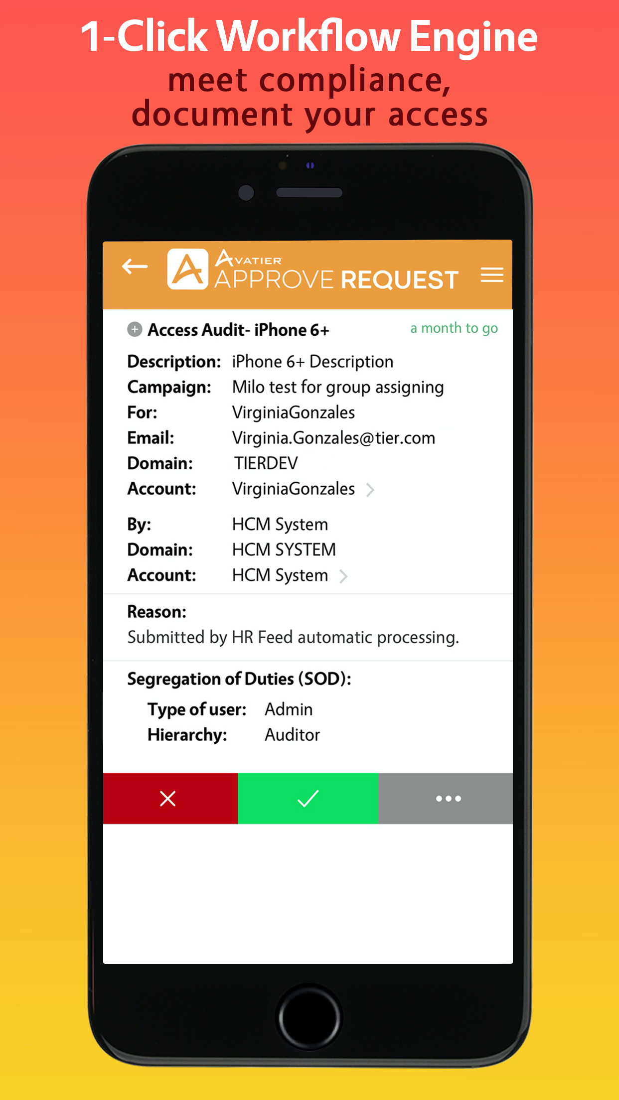 Avatier Identity Anywhere Software - Avatier Identity Anywhere Access Governance