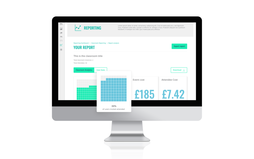 The Academy LMS Software - A comprehensive reporting suite. Assessments. Compliance features. Integrations. And so much more! Phew!
