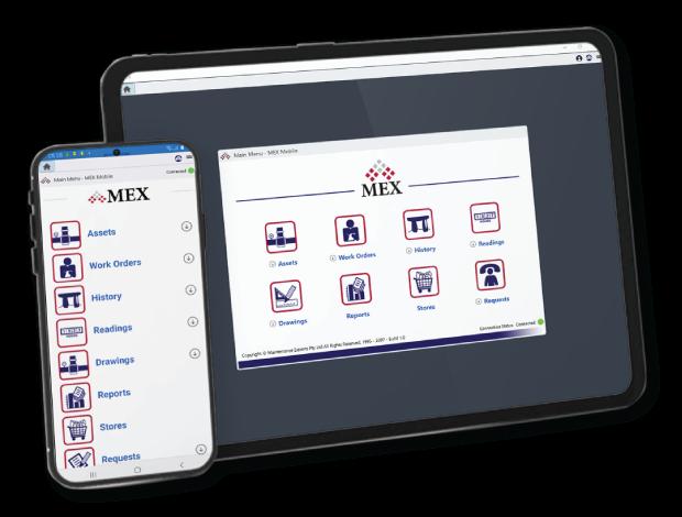 MEX Mobile Fleet CMMS App on iOS