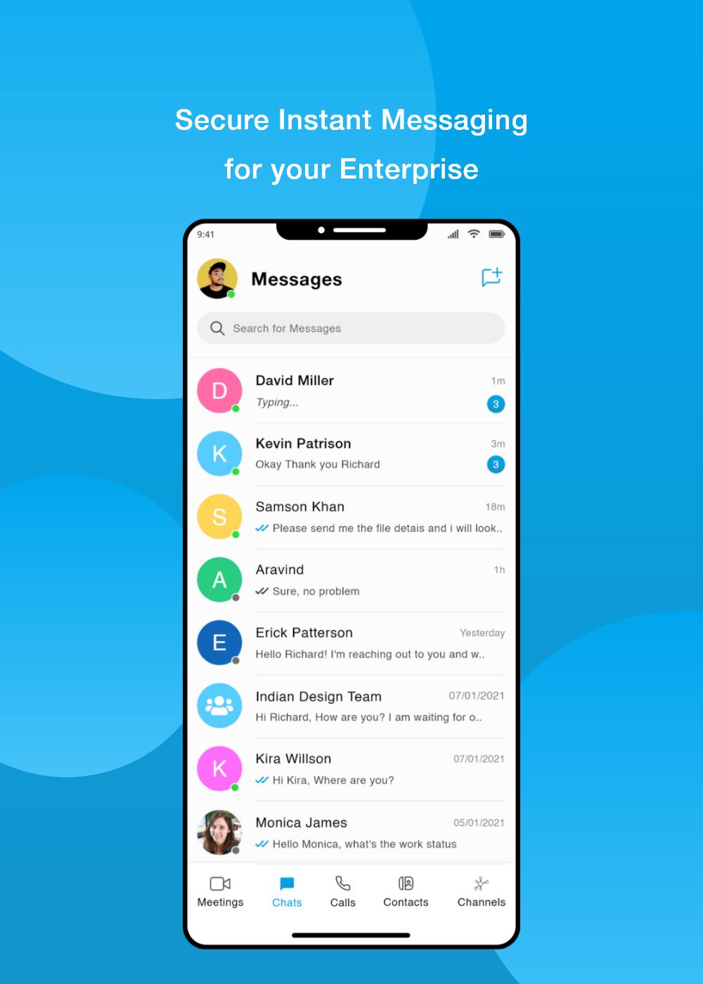 Secure Instant Messaging for your enterprise