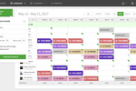 Captura de pantalla de When I Work: Fine tune the schedule while on-the-go. Schedule shifts, notify staff and simplify scheduling.