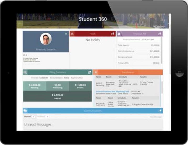 CAMS Enterprise Software - Student portal