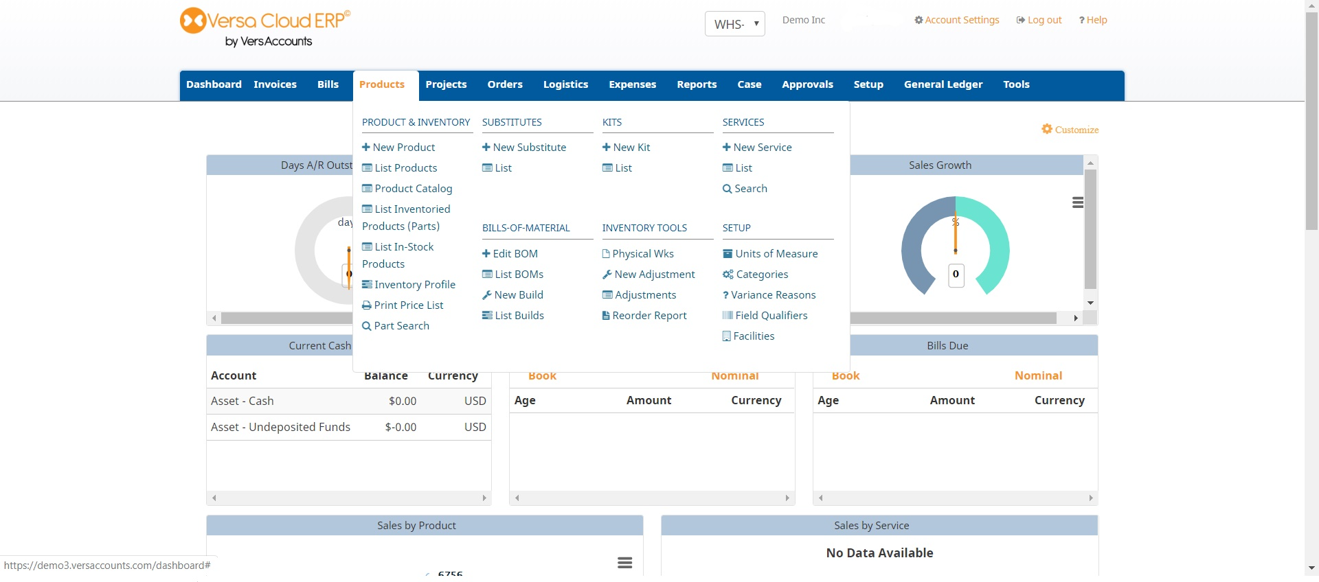 Versa Cloud ERP Software - 6
