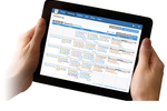TherapyNotes screenshot: TherapyNotes works great on Windows, Mac, iPad and other tablets and mobile devices. Sync calendar information to Google Calendar, Outlook, iCal, or other calendar software on any device.
