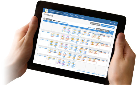 TherapyNotes works great on Windows, Mac, iPad and other tablets and mobile devices. Sync calendar information to Google Calendar, Outlook, iCal, or other calendar software on any device.
