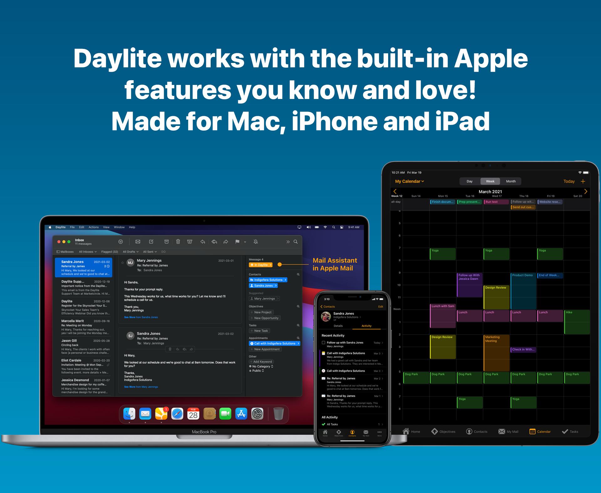 Daylite for Mac Logiciel - 1